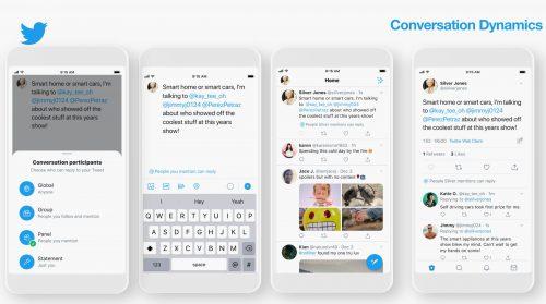 ميزة Conversation Type لتويتر