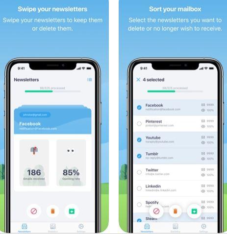 تطبيق Cleanfox لتنظيف وترتيب فوضى بريدك الإلكتروني