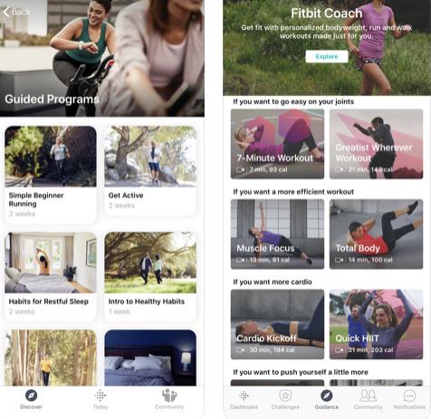 تطبيق Fitbit للياقة البدنية - ثلاثة أشهر مجانية!