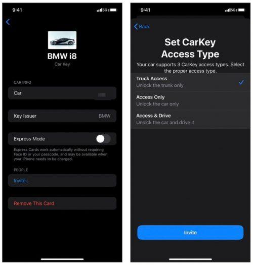 كشف المزيد عن ميزة CarKey لاستخدام الايفون كمفتاح للسيارة!