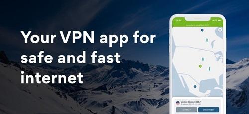 تطبيق NordVPN للتصفح بسرعة وأمان وإخفاء هويتك على الإنترنت والوصول إلى الخدمات المحجوبة!
