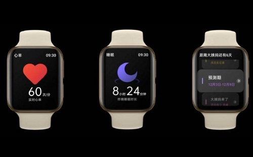 ساعة أوبو الذكية - نسخة مقلدة من ساعة ابل لكن بمزايا أكثر!