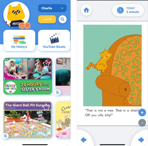 تطبيق Rivet - اقرأ لأطفالك