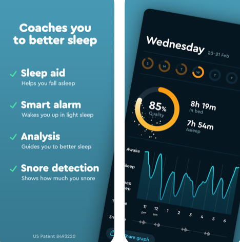 تطبيق Sleep Cycle لنوم أفضل