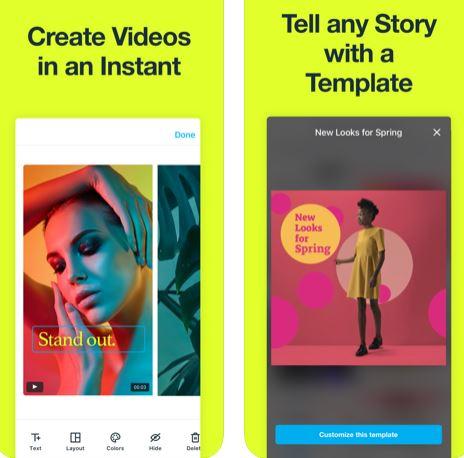 تطبيق Vimeo Create لإنشاء مقاطع فيديو مميزة