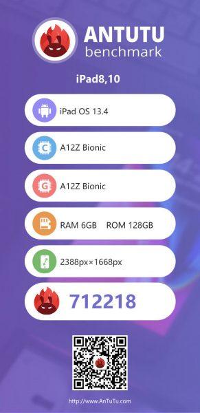 أجهزة ايباد برو 2020 - اختبارات الأداء مع معالج A12Z الجديد!