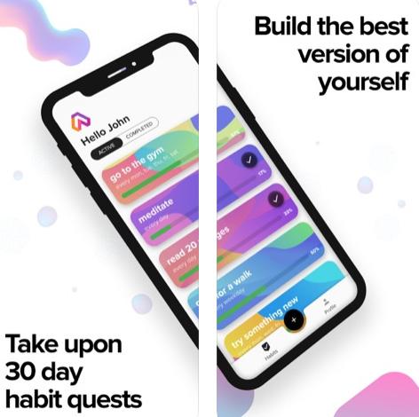 تطبيق lvlup لبناء عادات جيدة!