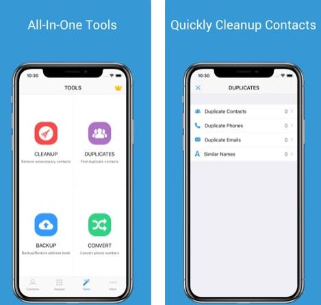 تطبيق 1Contact Pro لإدارة جهات الاتصال بسهولة