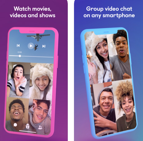 تطبيق Airtime - محادثات جماعية ومشاهدة الفيديو معاً