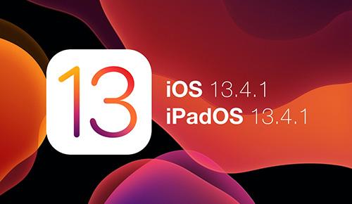 ابل تطلق تحديث iOS 13.4.1 لإصلاح بعض المشكلات في النظام
