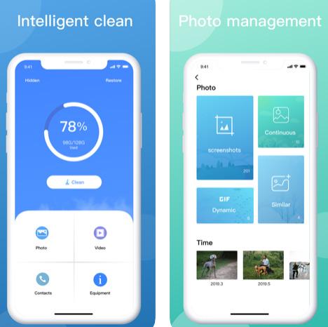 تطبيق Cleaner لتوفير السعة التخزينية