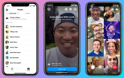 فيسبوك يطلق ميزة ماسنجر Rooms - بديل جديد لخدمة Zoom !