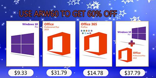 احصل على مفاتيح تفعيل ويندوز 10 و الأوفيس و برامج مكافحة الفيروسات بأسعار رخيصة!