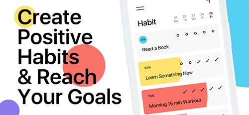تطبيق Habit لبناء عادات جيدة في رمضان