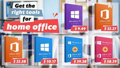 Photo of أهم البرامج العمل من المنزل – إصدارات ويندوز 10 و مايكروسوفت أوفيس بتخفيضات مهولة لفترة محدودة!