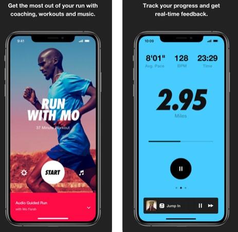 تطبيق Nike Run Club لهواة الجري