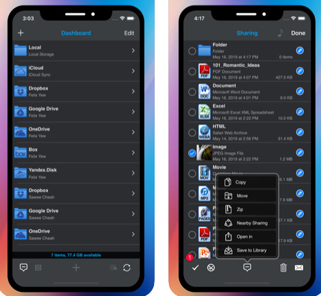 تطبيق Phone Drive - تطبيق متعدد المهام