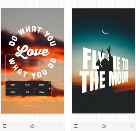 تطبيق Phonto للكتابة على الصور باحترافية