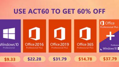 الآن متاح شراء ويندوز 10 و أوفيس 2019 و أشهر برامج مكافحة الفيروسات بأرخص الأسعار الممكنة!