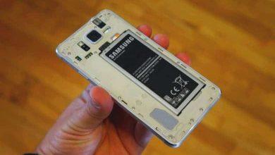 صورة هواتف سامسونج القادمة قد تأتي مع بطاريات قابلة للتغيير