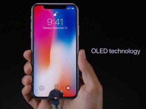 شاشة OLED في iPhone X من صناعة سامسونج