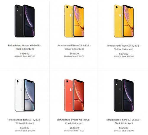 ابل تبدأ في بيع ايفون XR معاد التجديد بأسعار مخفضة!