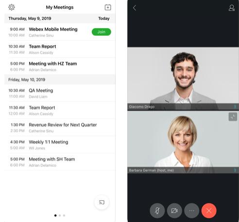 تطبيق Cisco Webex Meetings لعمل محادثات الفيديو بديل Zoom