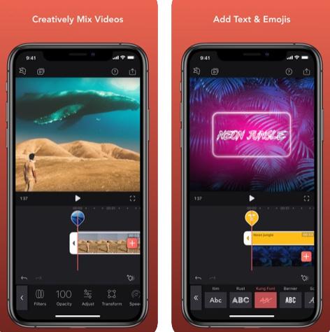 تطبيق Enlight Video Editor محرر فيديو مميز