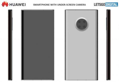 كاميرا تحت الشاشة