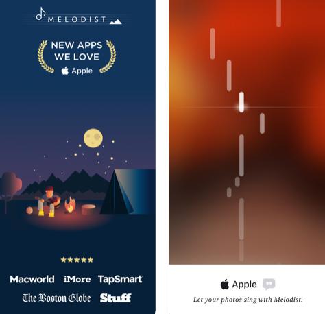 تطبيق Melodist - حوّل الصور إلى موسيقى!
