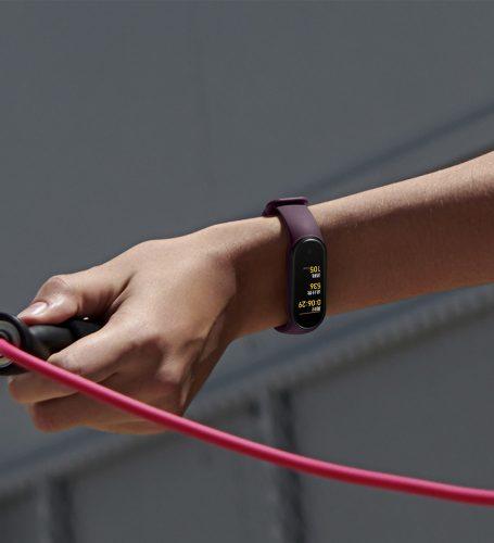 سوار شاومي Mi Band 5 : تقنية NFC