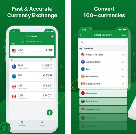 تطبيق Money Converter لتحويل العملات