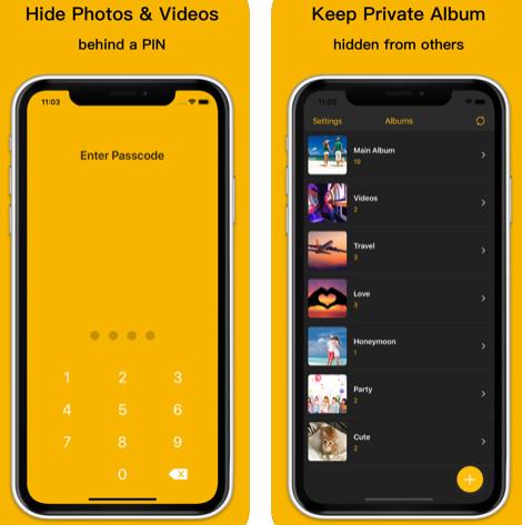 تطبيق Power Private Photo Vault خزانة سرية للصور والفيديو