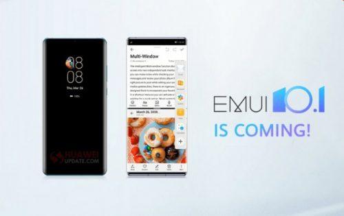 تحديث EMUI 10.1