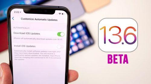 ابل تعمل على تحديث iOS 13.6 وهذه أبرز ملامحه!