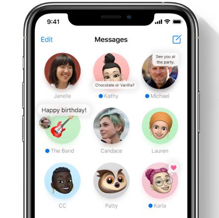 iOS 14 - المحادثات المثبتة في تطبيق الرسائل