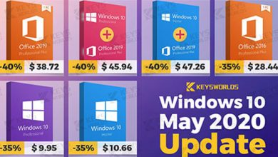 Photo of تحديث ويندوز 10 مايو 2020 متاح الآن – إليك طريقة الحصول على ويندوز 10 بسعر 10$ فقط!