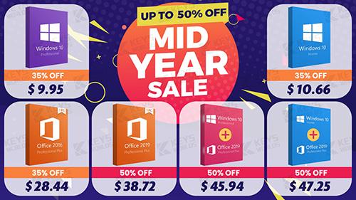 خصم أكثر من 50% على منتجات مايكروسوفت - ويندوز 10 وحزمة الأوفيس بأقل سعر ممكن!