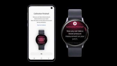 صورة ساعة جالكسي ووتش أكتيف 2 قادرة الآن على قياس ضغط الدم وتتبع الحالة الصحية