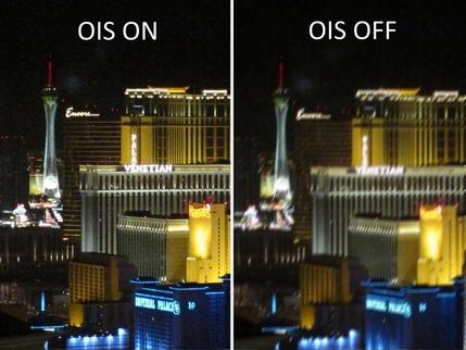 التثبيت البصري OIS