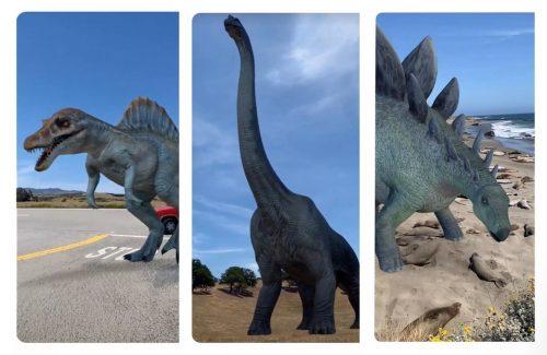 ديناصورات 3D