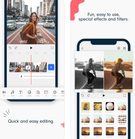 تطبيق Filmora Go لإنشاء وتعديل الفيديو