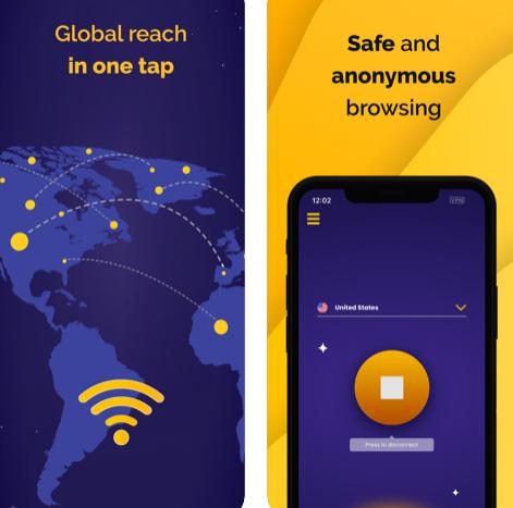تطبيق Premium VPN - خدمة VPN مميزة من أجل الايفون والايباد للاتصال الآمن الخفي بالإنترنت!