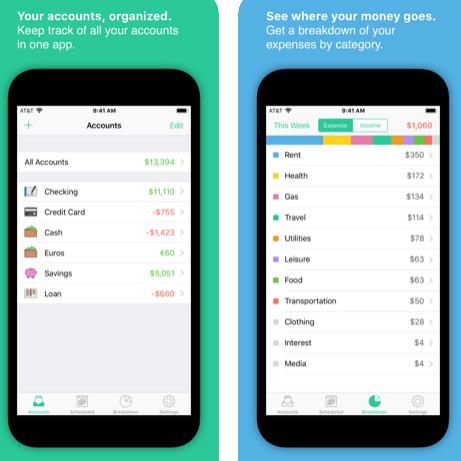 تطبيق SavingsApp لإدارة أموالك ونفقاتك
