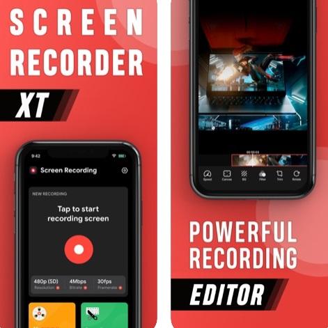 تطبيق Screen Recorder XT لتسجيل الشاشة