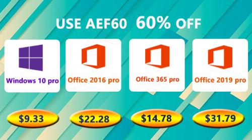 منتجات مايكروسوفت ويندوز 10 برو و برامج الأوفيس متوفرة بأرخص الأسعار!