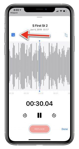 أهم المميزات الجديدة في تطبيق الملاحظات الصوتية Voice Memos في iOS 14