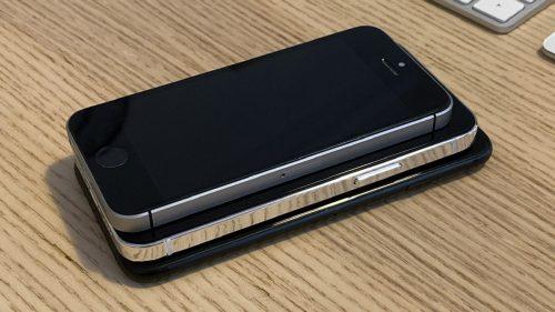 بالصور - الإصدار الأصغر من ايفون 12 القادم بجانب هواتف الايفون القديمة!