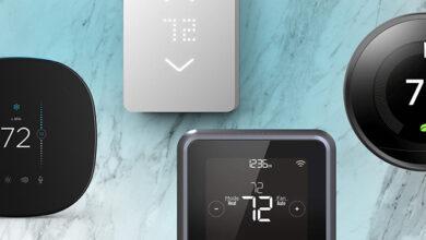 أفضل منظمات الحرارة الذكية أو الترموستات في العام 2020