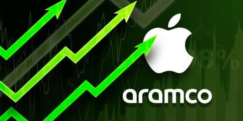 ابل تصبح الشركة الأكبر في العالم من ناحية القيمة السوقية متجاوزة أرامكو!